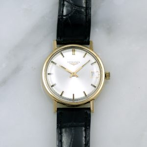Longines style la grand classique or rose 18carat