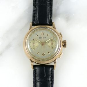 Dermont chronographe 1950's Or rose 18k