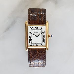 Cartier Tank Louis Cartier grand modèle or jaune