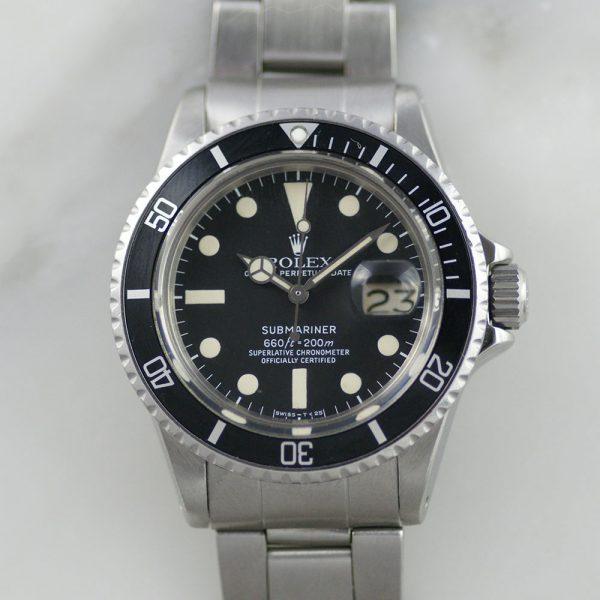 rare-watches-co-bordeaux-montres-occasion-bordeaux-rolex-submariner-1680-maxi-dial-mark-i