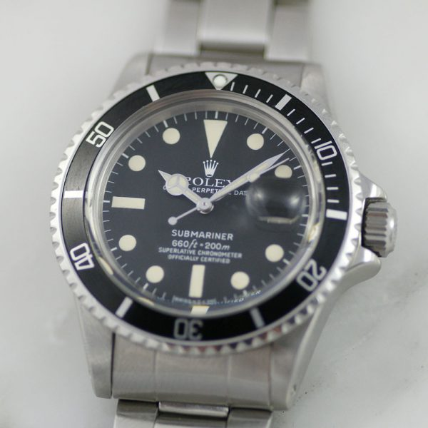 rare-watches-co-bordeaux-montres-occasion-bordeaux-rolex-submariner-1680-maxi-dial-mark-i-steel