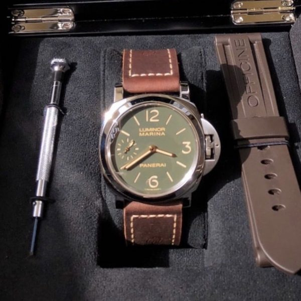 rare-watches-co-bordeaux-strasbourg-montre-occasion-panerai-luminor-marina-pam911-AB-fullset